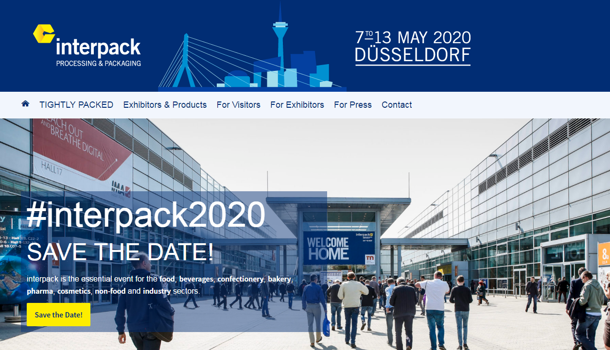Vācija Interpack 2020 izstāde